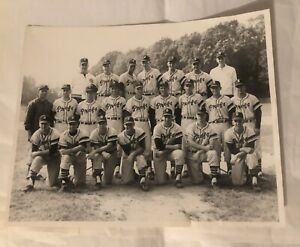 "Rare Antique Photo US Baseball Team Glassboro college Rowan ""PROFS"" Photograph"
