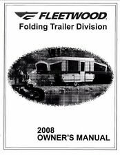 FLEETWOOD Trailer Owners Manual- 2008 Americana LE Sun Valley Santa Fe Cheyenne