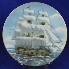 Danbury Mint Great American Sailing Ships Collector Plate-The Bon Homme Richard