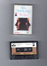 FOREIGN CASSETTE - PHIL COLLINS-HELLO I MUST BE GOING-MUSIC HOUSE LABEL