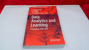 Data Analytics and Learning : Proceedings of DAL 2018 by Nagabhushan, P.