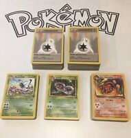 Pick Your Vintage Pokemon Set Complete Wizards Of The Coast Base Jungle Fossil
