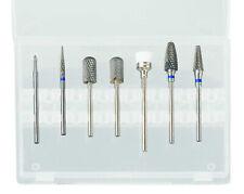 Professional Nail Drill Bits Set 7pcs Tools Diamond Metal E-File Nail File SET 1
