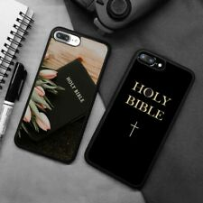 Holy Bible Christianity Cross Silicone Case Cover For iPhone Samsung Galaxy