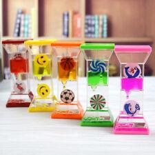 Romantic Liquid Motion Timer For Sensory Play Toy Random Color Oil Hourglass
