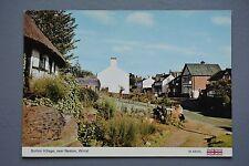 R&L Postcard: Burton Village nr Neston Wirral, ETW Dennis