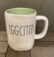 Rae Dunn By Magenta - LL EGGCITED - Green Ceramic Coffee Mug - Easter 🐣Spring