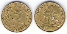 """Pièce de monnaie de """"France"""" 5 centimes (1979)"""