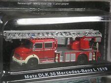 Super: Altaya Mercedes-Benz L 1519 Metz DLK 30 Feuerwehr in 1:72 in OVP