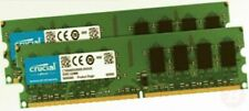 Crucial CT2KIT12864AA667 2 GB kit (1 GB x 2) DDR2  667 MHz (PC2-5300) CL5