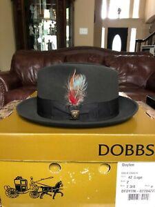 "DOBBS ""DAYTON"" SAGE 7 3/8 CLASSIC FEDORA!"