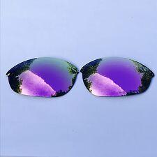 Grabado Polarizado Rosa Espejo Lentes de reemplazo Oakley Media Chaqueta