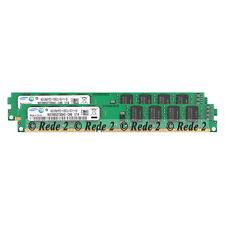 Samsung 8GB 2x4GB 1333Mhz DDR3 PC3-10600 240Pin Desktop Intel & AMD Memory