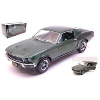 "GREENLIGHT GREEN84041 FORD MUSTANG GT 1967 STEVE MC QUEEN BULLIT"" 1:24 DIE CAST"""
