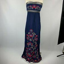 Flying Tomato Small Boho Dress Embroidery Maxi Sleeveless