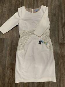 Antonio Melani size 8 White Dress