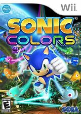 SONIC COLORS  (Wii, 2010) (0426)  SHIPS NEXT DAY     *****FREE SHIPPING USA*****