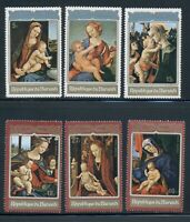 Burundi Scott #408//C167 MNH Christmas 1972 Paintings Art CV$8+