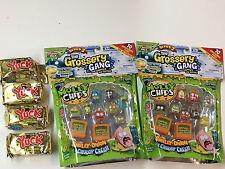 (2)The Grossery Gang season 2  MOLDY CHIPS  10 packs & (4) season 2 YUCK BARS