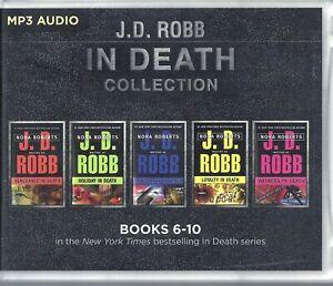 J D Robb In Death Series Books 06-10 Five Unabridged MP3 Audio Books