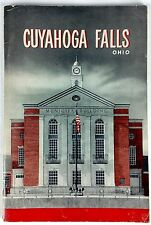 1953 Cuyahoga Falls Ohio history booklet ads Akron Cleveland Summit County