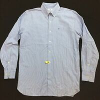 Southern Tide button front shirt Men's M Fish logo