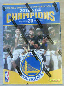 🔥 2018 Panini Nba Champions Golden State Warriors Basketball Box Set New 🔥