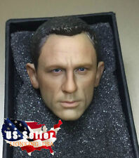 1/6 Daniel Craig Head Sculpt 3.0 For James Bond 007 Skyfall Spectre ❶IN STOCK❶
