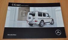 Mercedes Benz G-Class W463 Brochure Prospekt 0216 Russian Edition