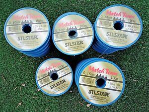 Silstar Match Team Line - 100m spools - HALF PRICE + BIG MULTIBUY SAVNGS