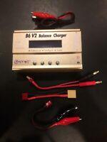 HTRC B6V2 80W 6A DC Balance Charger for LiHV LiPo LiIon LiFe NiCd NiMH PB Gold