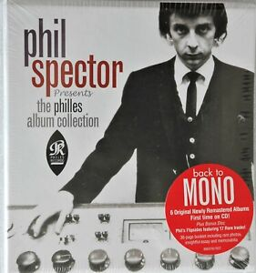 PHIL SPECTOR PRESENTS THE PHILLES ALBUM COLLECTION NEW 7 CD BOX SET RONETTES