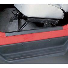Rugged Ridge Jeep Wrangler TJ Door Sill Entry Guards Pair 97-06 (Black) 11216.01