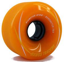 HAWGS Tracer 67mm 78a Orange Wheels Longboard Rollen