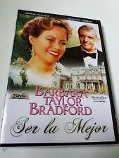 """DVD """"SER LA MEJOR"""" 2DVD LINDSAY WAGNER ANTHONY HOPKINS"""
