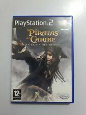 Disney Piratas del Caribe En el fin del Mundo PS2 pal España y completo