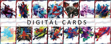 Topps Marvel Collect SPIDER SPLASH ART <14 CARDS FULL SET> DIGITAL CARD
