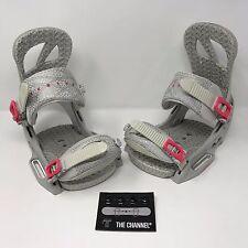 Burton Scribe EST Snowboard Binding Women's Medium Boot (6-8) no hardware