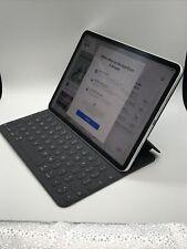 Apple iPad Pro 3rd Gen 64GB Wi-Fi 11in Silver W/Apple Keyboard See DESCRIPTION!