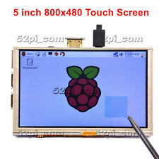 5 Inch 800x480 HDMI TFT LCD Touch Screen for Raspberry PI 3/2 Model B/ B+ /A+ /B