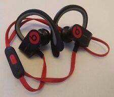 Genuine Beats by Dr. Dre Powerbeats2 Ear-hook Wireless Headphones - Black Sport