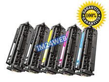 IM KIT 5 TONER PER HP CF380A CF381 CF382A CF383A  LaserJet Pro MFP M470 MFP M476