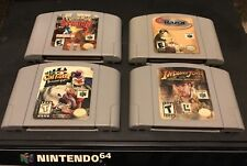 Clay Fighter: Sculptor's Cut , indiana jones , Razor Blockbuster Exclusive N64