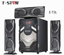 ERA EAR E-T3L 60W 5.1 Channel Home Theater System/Bluetooth/Subwoofer/USB/FM/SD