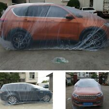 Cubierta de coche completo de un solo uso 100% de protección de Nieve Lluvia Impermeable Al Aire Libre-Nuevo