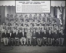 Hamilton Tiger-Cats - 1953 Grey Cup Champions, 8x10 B&W Team Photo