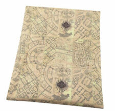 Harry Potter Maruders Map print 50cm X 145cm Cotton/polyester licensed fabric