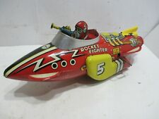 FLASH GORDON ROCKET FIGHTER EXCELLENT COND WITH SPARKING EXHAUST
