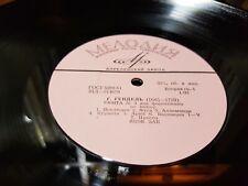 Yakov ZAK, piano - Handel - Suite No.3 / Mozart - Sonata No.9 - 1961 - MELODIYA