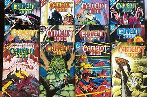 CAMELOT 3000 #1-12 DC COMICS BRIAN BOLLAND 1982 SET (12)